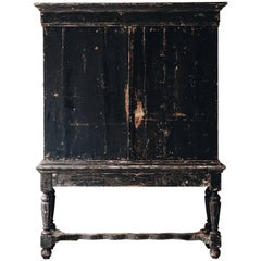 18th Century Baroque Cabinet on Stand