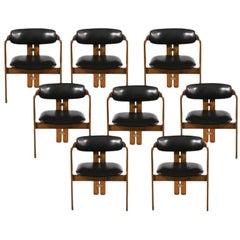 Eight Augusto Savini Dining Chairs