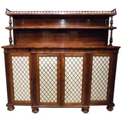 Superb Mahogany Regency Period Chiffonier by Gillows of Lancaster, circa 1820
