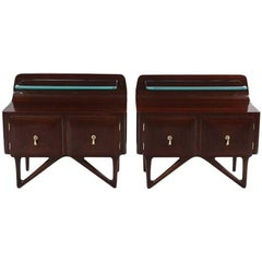Pair of Bedside Lockers by Dassi