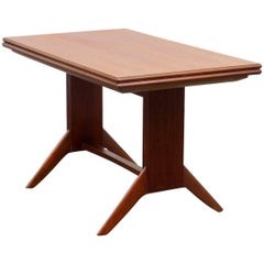 1950s Coffee or Dining Table by Wilhelm Renz, Teak