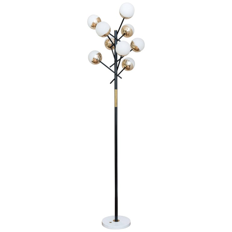 Floor Lamp by Stilnovo, Italy, circa 1955 For Sale