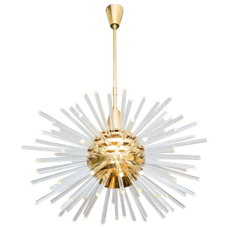 Big Miracle Chandelier by Bakalowits & Söhne, Vienna Austria, circa 1960 For Sale