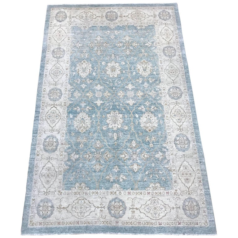Pakistan Hand Knotted 100 Wool Rug For Sale At 1stdibs