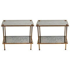 Pair of Bagues Side Tables