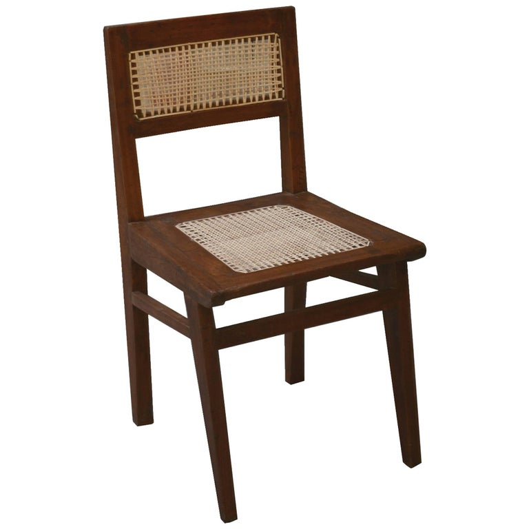 Pierre Jeanneret Chair from the Himalayan Hotel For Sale