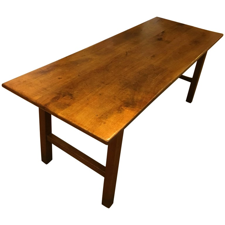 Furniture Dining And Kitchen Tables Farmhouse Industrial: Primitive Industrial Farmhouse Style Dining Table