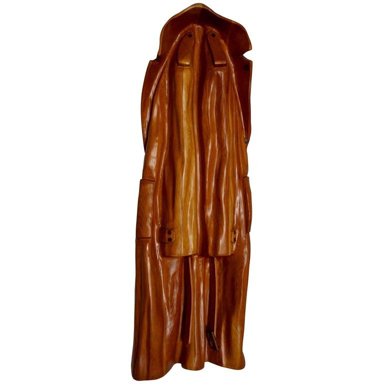 Pop Art Raincoat Sculpture by Rene Megroz 1