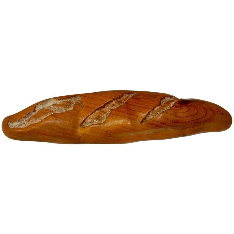 Pop Art Loaf of Bread Sculpture by Rene Megroz For Sale