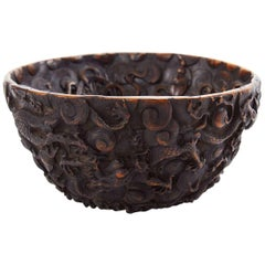 19th Century Black Forest 'German' Carved Bowl