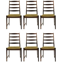 1960s Torbjorn Alfdal Set of Six Dining Chairs in Rosewood by Vamo Sonderborg