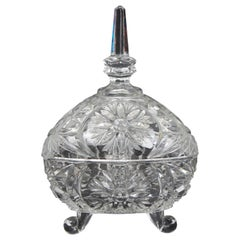 Tripod Crystal Candy Box