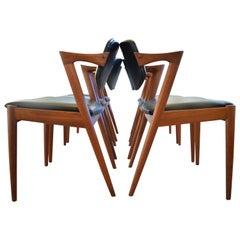 Kai Kristiansen #42 Teak Dining Chairs