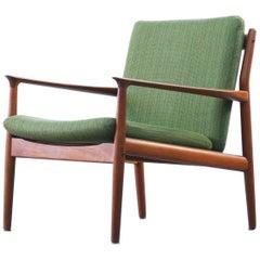 Danish Armchair by Grete Jalk Scandinavian Design Teak