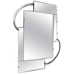 Original Modernist Style Wall Mirror, Art Deco, English, circa 1930