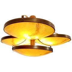 Large Art Deco Pendant Lamps Bellevue