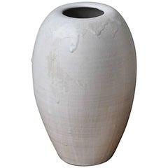 Kasper Würtz Medium Tall Vase White Glaze