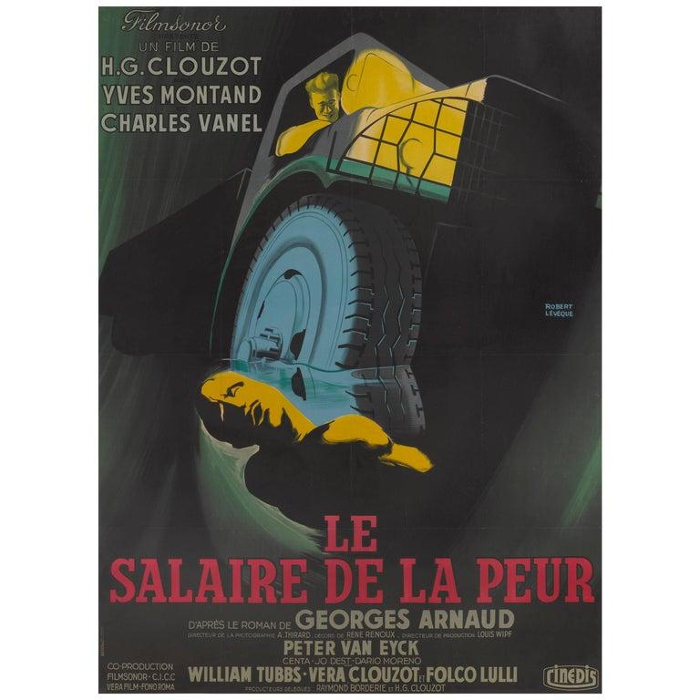 Le Salaire De La Peur / The Wages of Fear Movie Poster For Sale