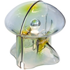 Umberto Riva Medusa Glass Table Lamp