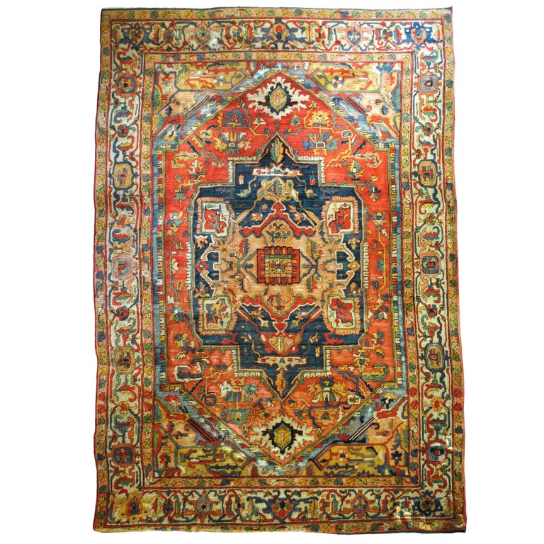 Arraiolos Rug Year, circa 1900