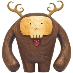 Hermanos Calavera, Traicionera in Walnut by Miguel and Ilse Silva for Wooda