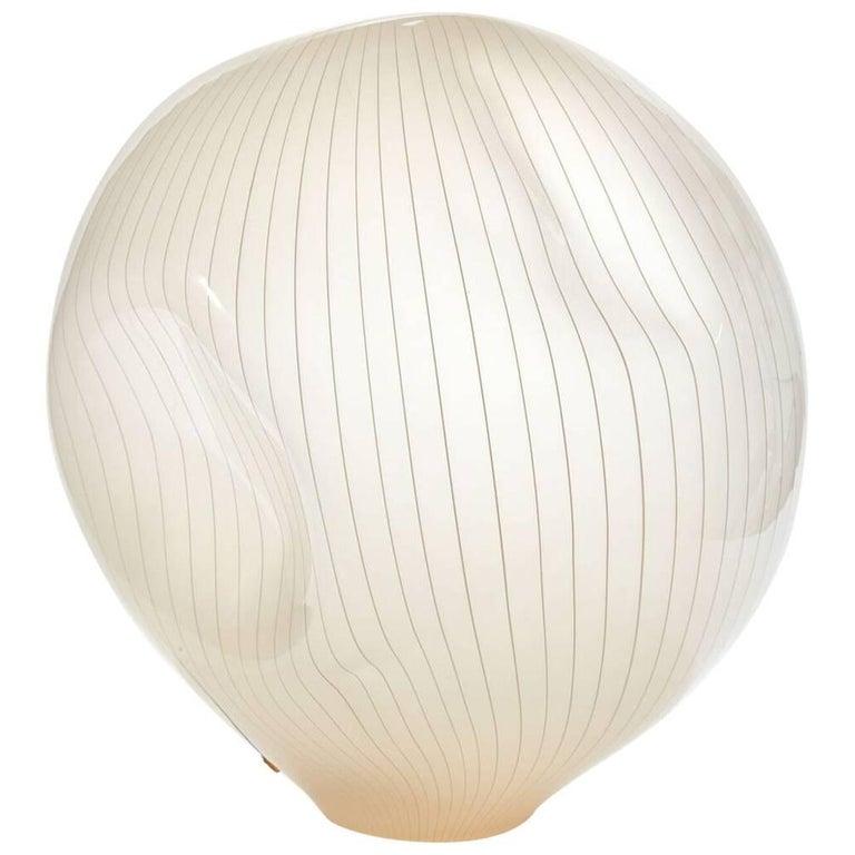 Mid-20th Century Monumental Luciano Vistosi Murano Glass Lamp