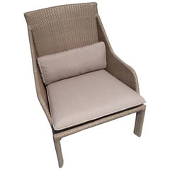 Outdoor Lounge Armchair Bel Air Collection Design by Sacha Lakic