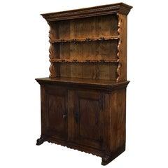 18th Century Rustic Dutch Oak Vaisselier