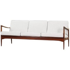 Rare Sofa Model Kandidaten Designed by Ib Kofod-Larsen for Ope Mobler