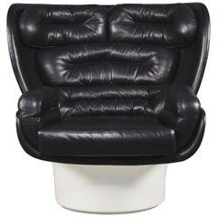 Joe Colombo Elda Swivel Armchair for Comfort, Italy