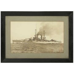 Photograph of the USS New York, Naval Battleship, 1914-1948