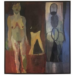 Abstract Large Nude Painting, 1998