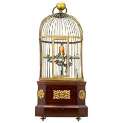Coin-Operated Singing Bird Cage Automaton