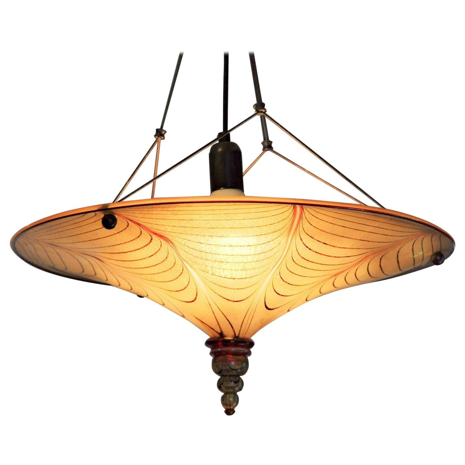 fortuny sloan chandelier garbo lighting miyasato