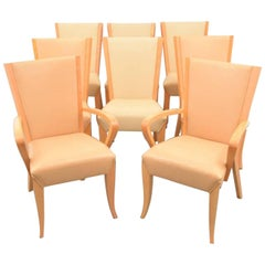 Dakota Jackson Dining Chairs, Set of Eight