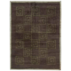 Tibetan Rug Greek Key