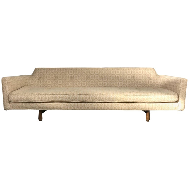 Modernist Sofa Designed by Edward Wormley for Dunbar