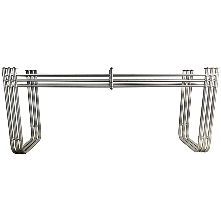 Iconic Warren McArthur Console Table, Art Deco/Machine Age, 1930s