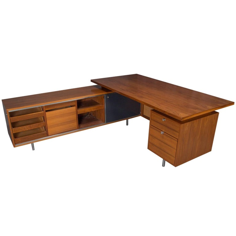 Executive L-Shaped Desk Unit by George Nelson for Herman Miller