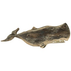 Whale Carving Plaque