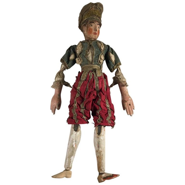 19th Century Italian Puppet