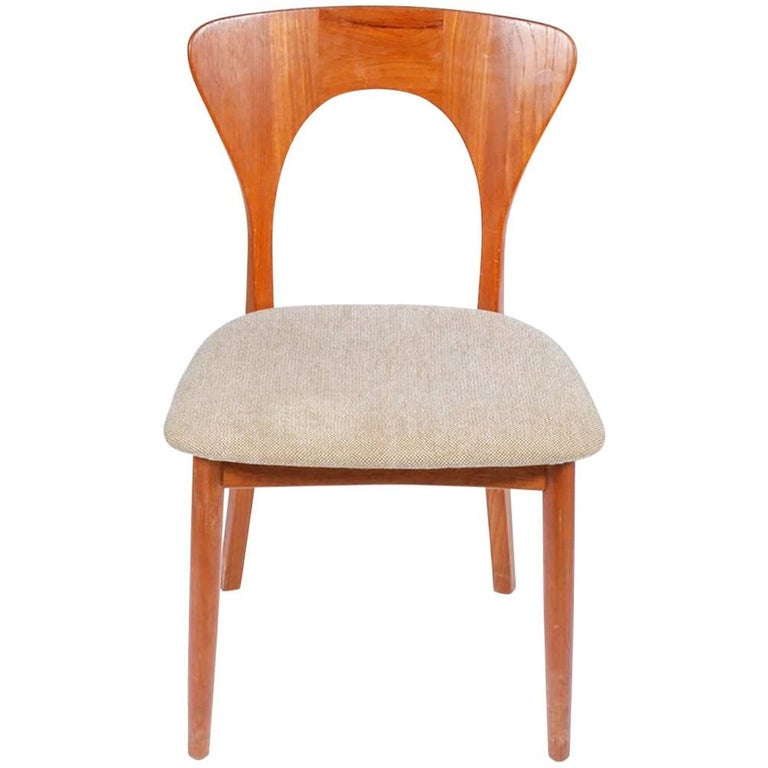 Midcentury Neils Koefoed for Koefoeds Hornslet Peter Chair For Sale