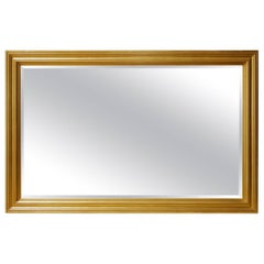 Gold Leaf Giltwood Wall Mirror Made in California