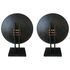 Pair of Post-Modern Sconces Designed by Robert Sonneman for George Kovacs