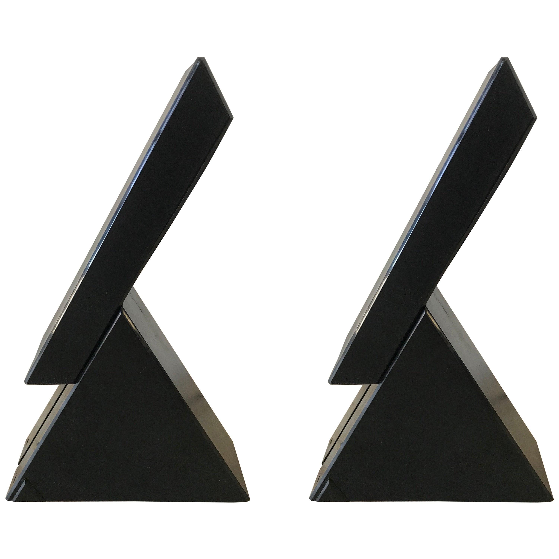 "Pair of Postmodern Mario Bertorelle ""Delta"" Lamps for JM RDM Massanzago, Italy"