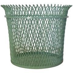Documented Mathieu Mategot Wastepaper Basket, France, 1951