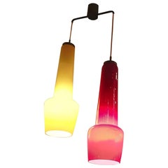 Stilnovo 1950 Chandelier Two-Light