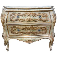 Early 20th Century Venetian Painted Chest of Drawers