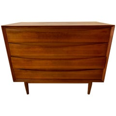 Teak Chest of Drawers by Arne Vodder