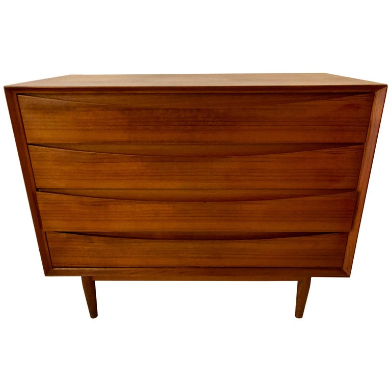 Teak Chest of Drawers by Arne Vodder  For Sale